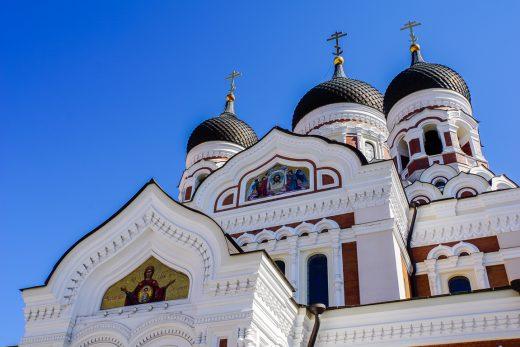 Alexander Nevsky kathedraal in Tallinn, Estland