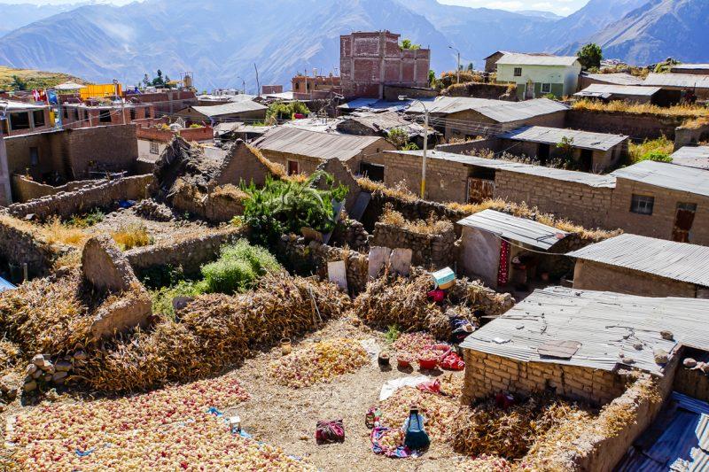 Cabanaconde bij Colca Canyon, Peru