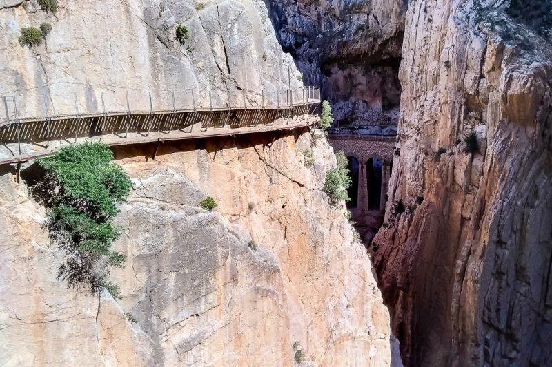 Caminito del Rey - rotswanden