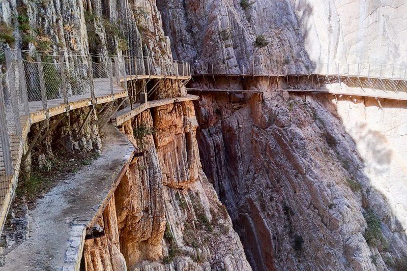Caminito del Rey - wandelpad langs afgronden