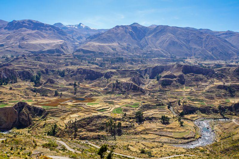 Colca vallei, Peru