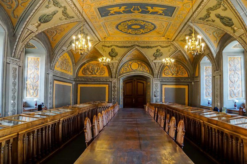 De Assembly Hall van de universiteit van Vilnius, Litouwen