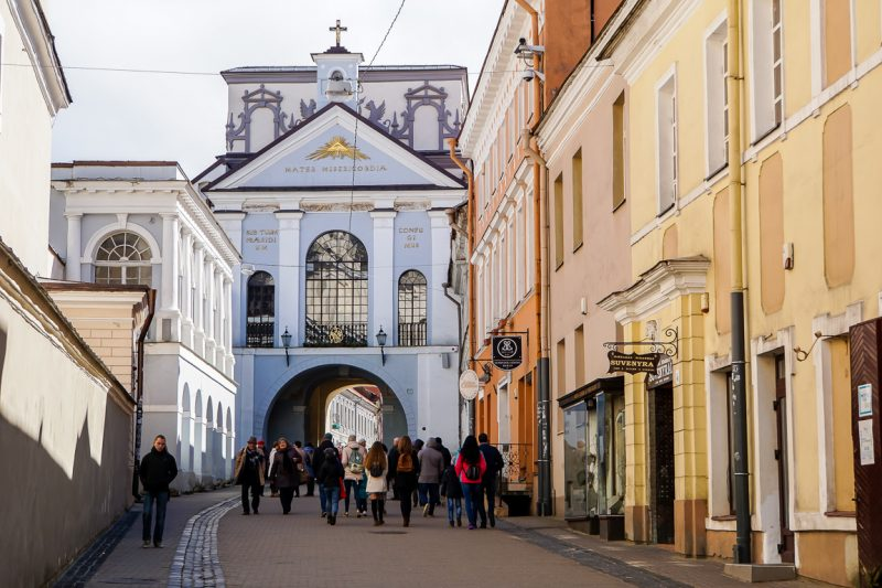 De Gates of Dawn in Vilnius, Litouwen