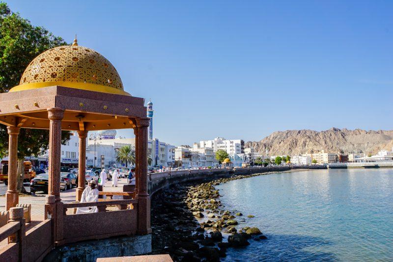 De Mutrah corniche in Muscat, Oman