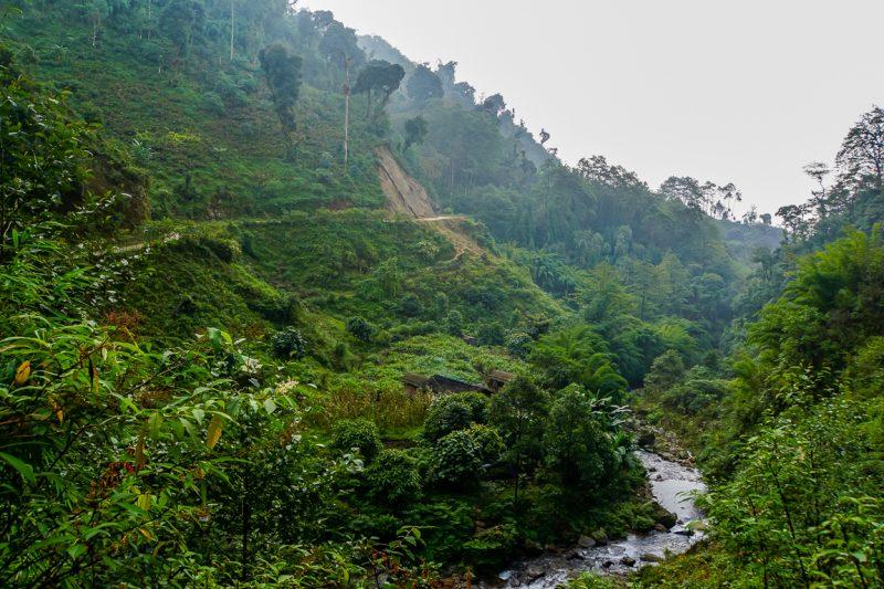De mooie hike van Yuksom naar Tashiding in Sikkim, India