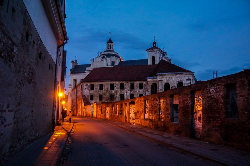 Een avond in Vilnius, Litouwen