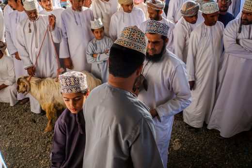 Geitenmarkt van Nizwa in Oman-2