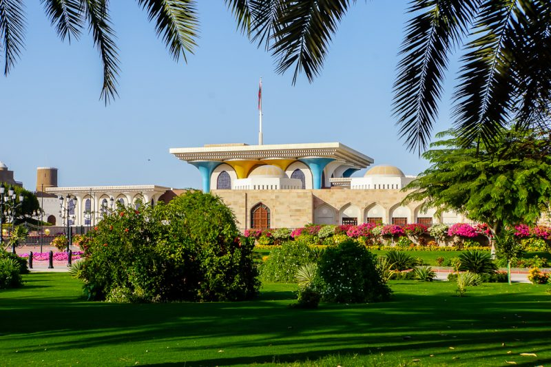 Het Alam Palace in Muscat, Oman
