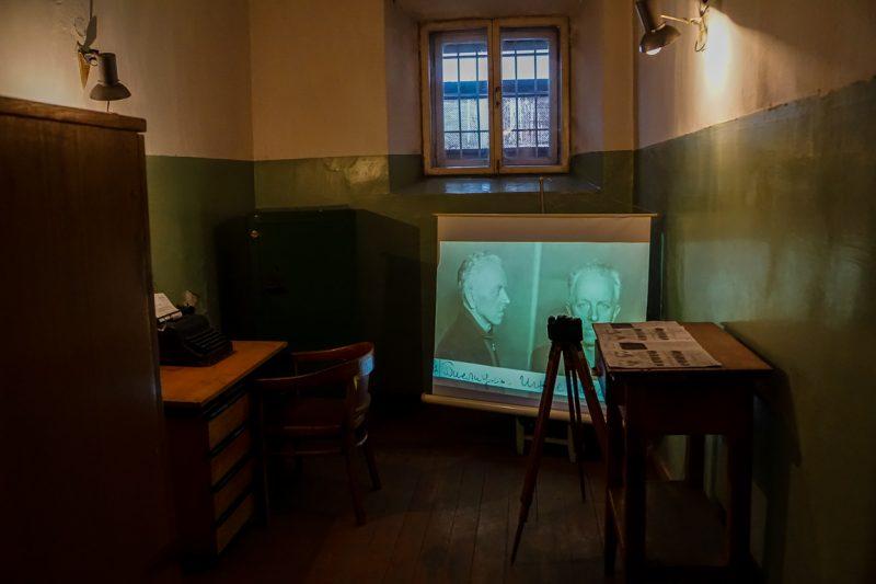 Het Museum of Genocide Victims, KGB museum in Vilnius, Litouwen