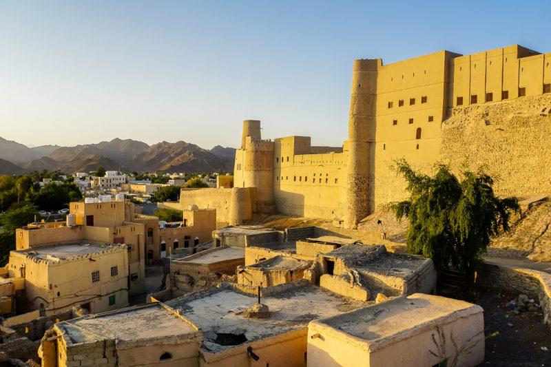 Het fort van Bahla in Oman
