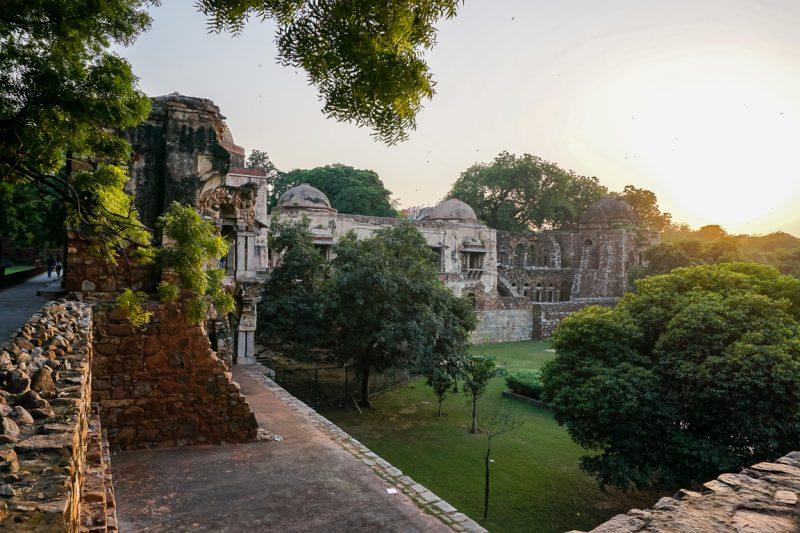Het fort van Hauz Khas in Delhi, India