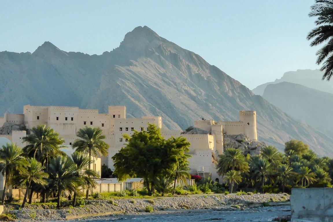 Het fort van Nakhal in Oman