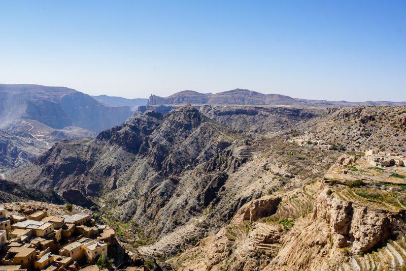 Het plateau van Jebel Akhdar in Oman-1