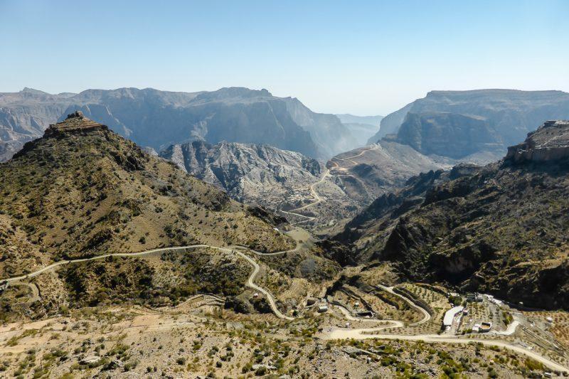 Het plateau van Jebel Akhdar in Oman-3