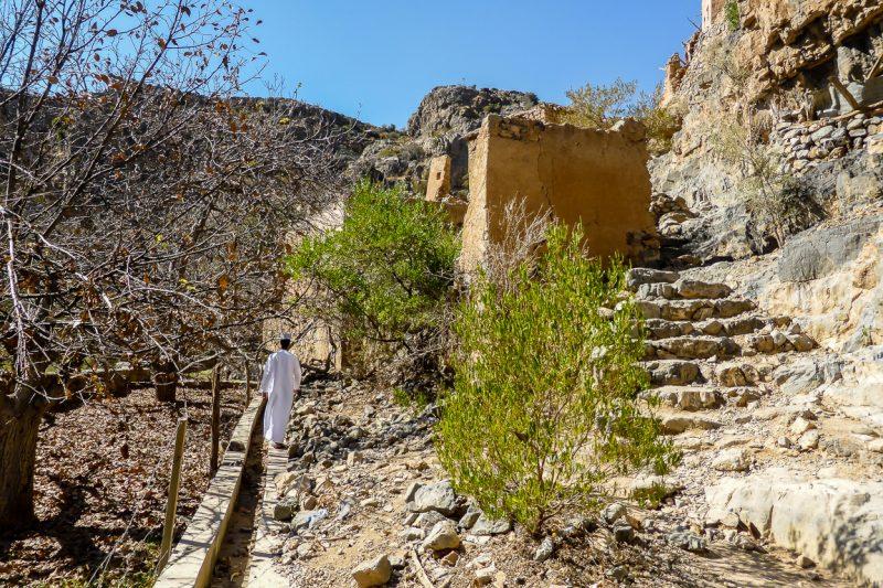 Het plateau van Jebel Akhdar in Oman-4