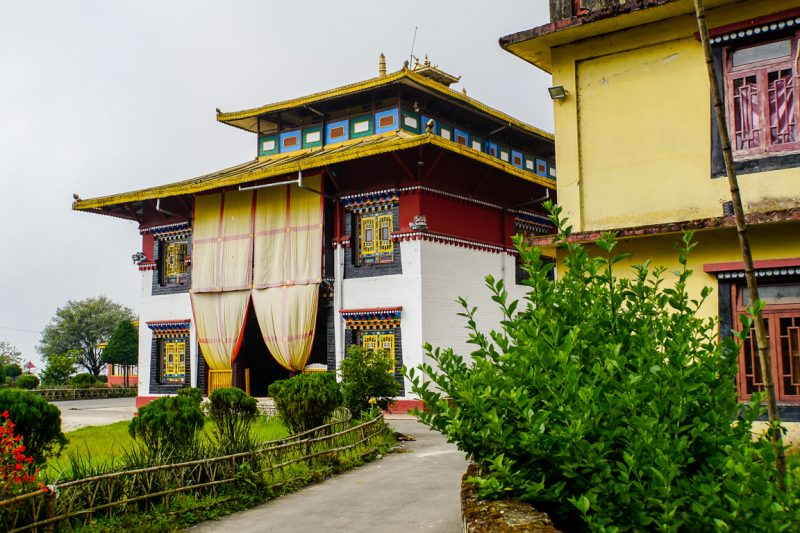 Klooster in Gangtok in Sikkim, India