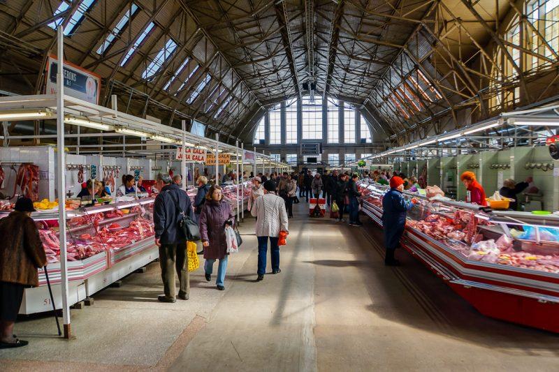 Markthal in Riga, Letland