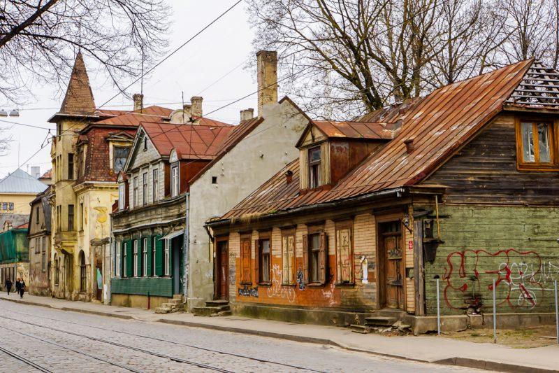 Miera iela in Riga, Letland