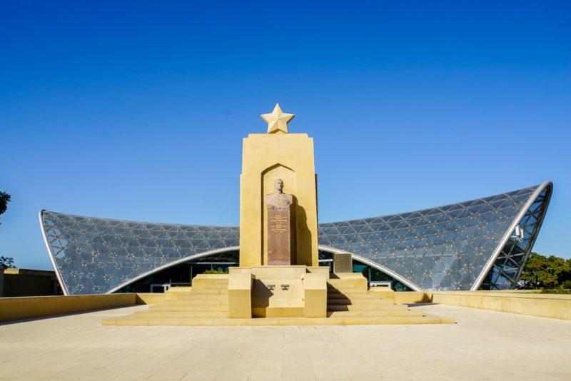 Monument in Baku, Azerbeidzjan