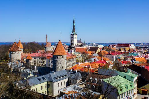 Patkuli vaateplats in Tallinn, Estland