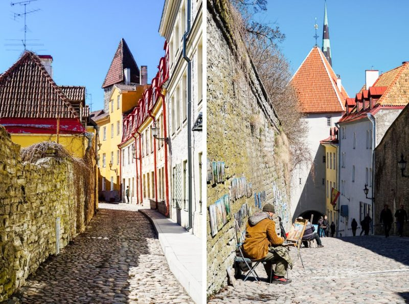 Pikk jalg in Tallinn, Estland