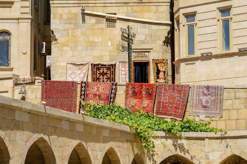 Tapijten in Baku, Azerbeidzjan