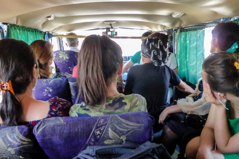 Taxibusje marschrutka in Azerbeidzjan