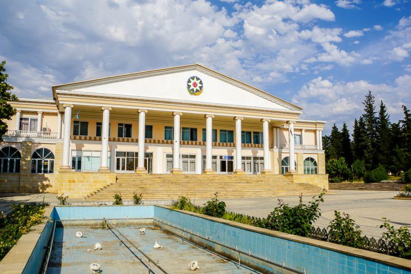 Theater in Ivanovka, Azerbeidzjan