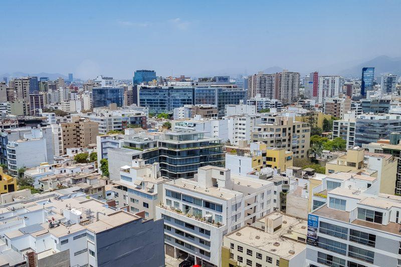 Uitzicht over Lima, Peru