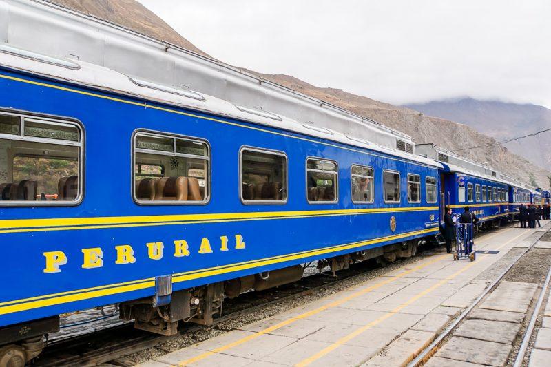 Met de trein naar Machu Picchu, Peru