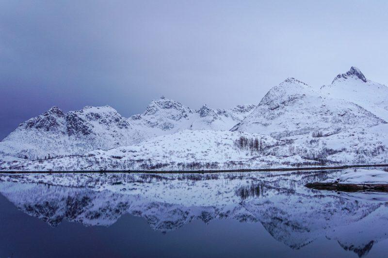 Noorwegen Lofoten Winter (2)