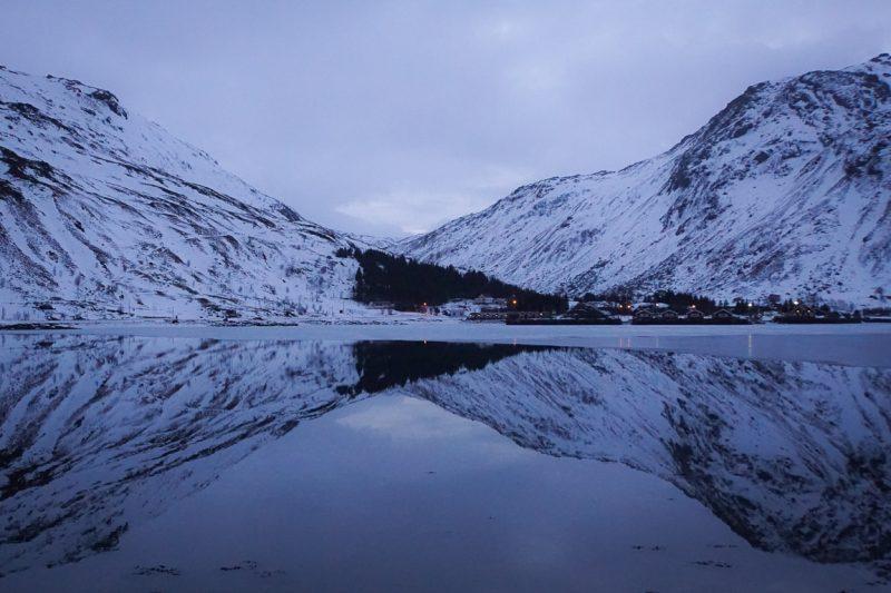Noorwegen Lofoten Winter (7)